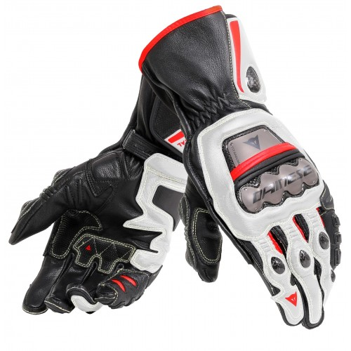 ΓΑΝΤΙΑ DAINESE FULL METAL 6 GLOVES(Black/White/Lava-Red)