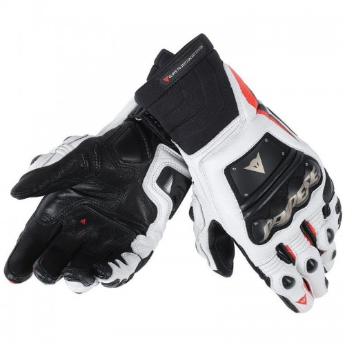ΓΑΝΤΙΑ DAINESE RACE PRO IN GLOVES (Black/flow red/white)