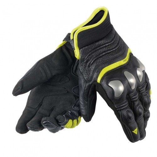 ΓΑΝΤΙΑ DAINESE X-STRIKE GLOVES (Black/Yellow - fluo)