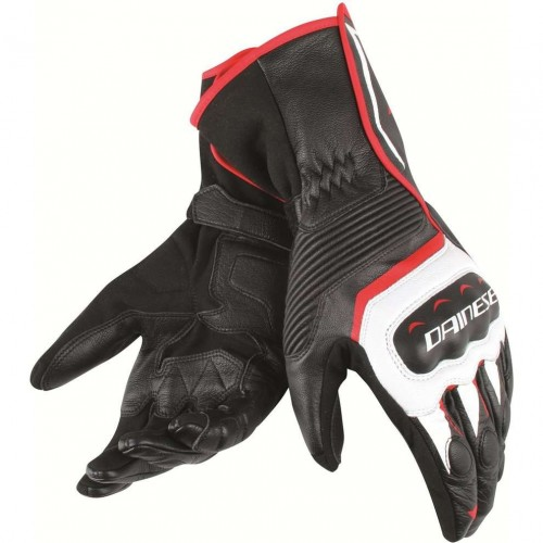 ΓΑΝΤΙΑ DAINESE ASSEN GLOVES(Black/white/red lava)
