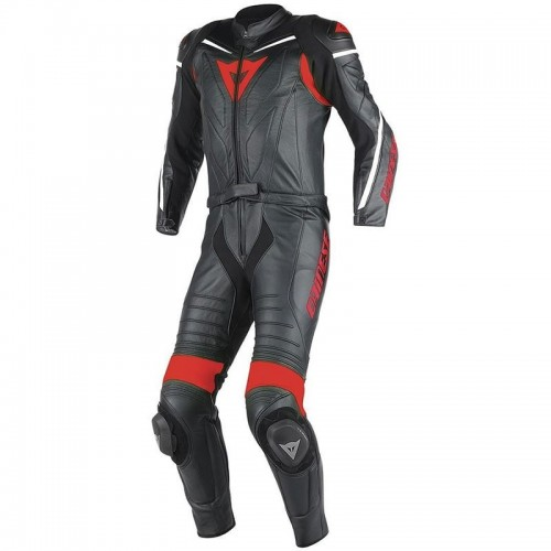 ΦΟΡΜΑ ΔΕΡΜΑΤΙΝΗ DAINESE LAGUNA SECA D1 2PCS SUIT (black/black/red)