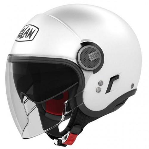 ΚΡΑΝΟΣ NOLAN N21 VISOR CLASSIC METAL WHITE (5)