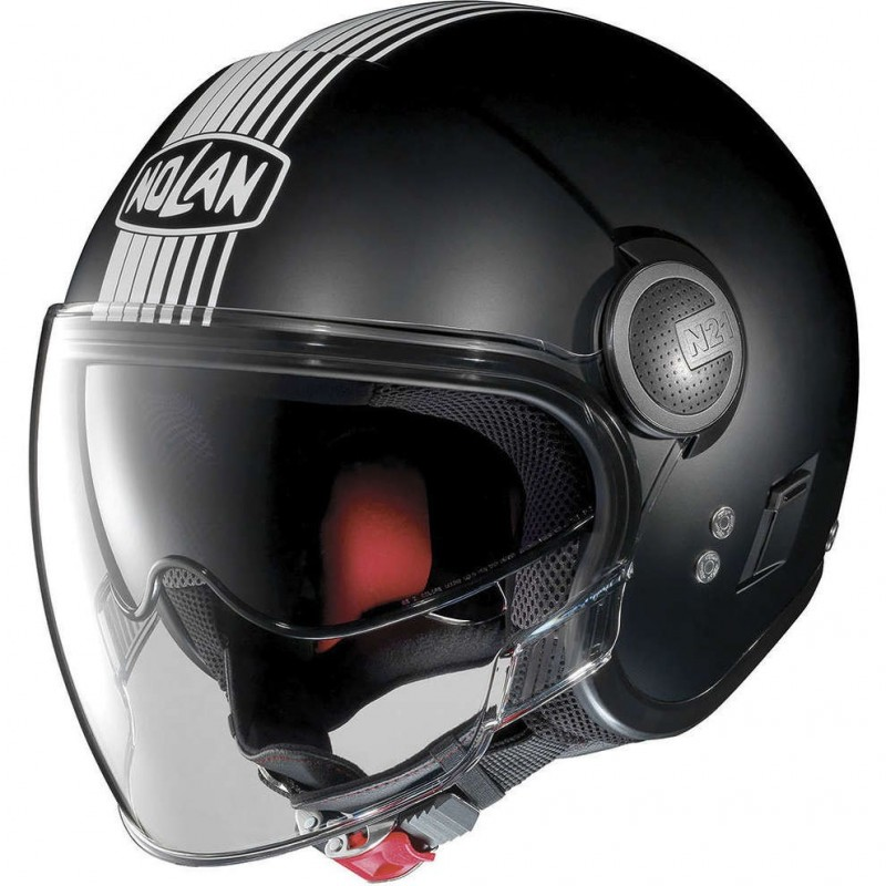 N21 VISOR DUETTO 22 METAL BLACK