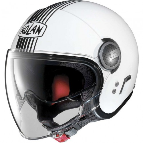 N21 VISOR METAL WHITE (41)