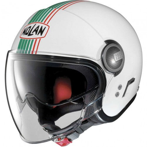 N21 VISOR METAL WHITE (43)