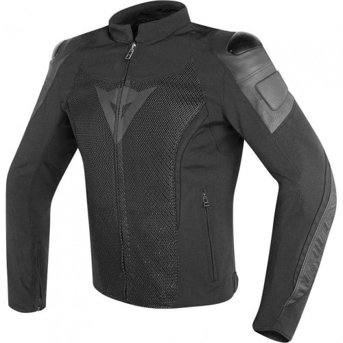 ΜΠΟΥΦΑΝ ΔΕΡΜΑΤΙΝΟ DAINESE MIG LEATHER-TEX JACKET BLACK