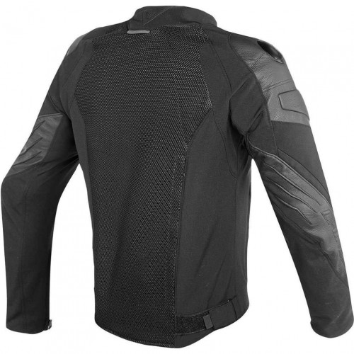 ΜΠΟΥΦΑΝ DAINESE MIG LEATHER-TEX JACKET(Black/Black)