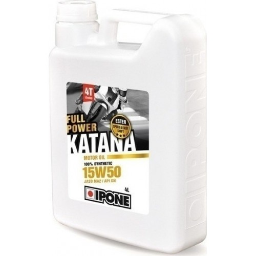 IPONE KATANA FULL POWER 100% (15W50) 4L