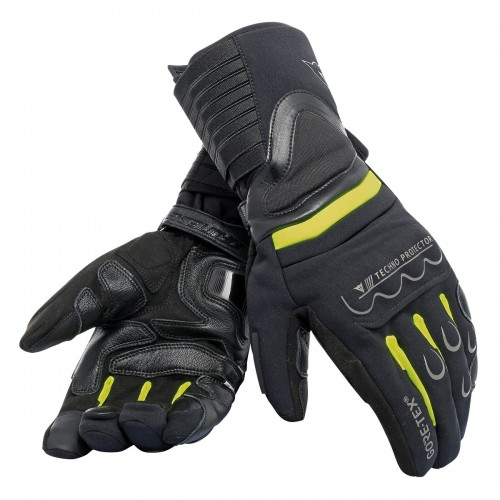 ΓΑΝΤΙΑ  DAINESE  SCOUT 2 GORE-TEX GLOVES (black/flow yellow/black)