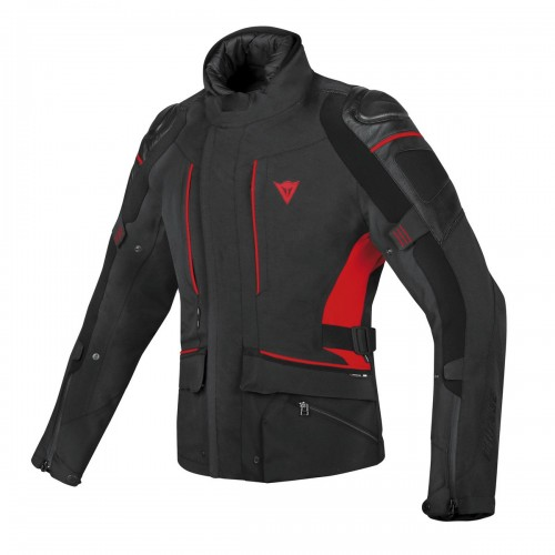ΜΠΟΥΦΑΝ DAINESE D-CYCLONE GORE-TEX® JACKET (Black/Black/Red)