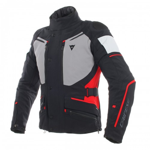ΜΠΟΥΦΑΝ DAINESE CARVE MASTER 2 GORE-TEX JACKET(Black/Frost-Grey/Red)