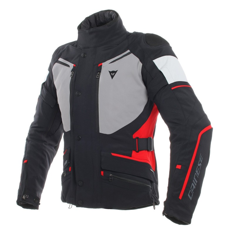 ΜΠΟΥΦΑΝ DAINESE CARVE MASTER 2 GORE-TEX JACKET( Black/Frost-Grey/Red)