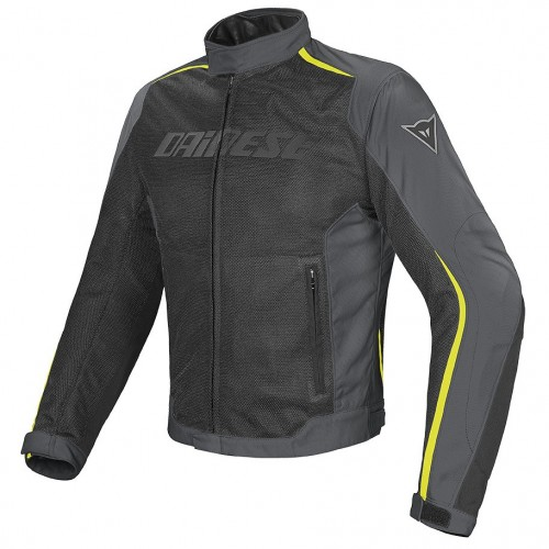 ΜΠΟΥΦΑΝ DAINESE HYDRA FLUX D-DRY(Black/Dark-Gull-Gray/Fluo-Yellow)