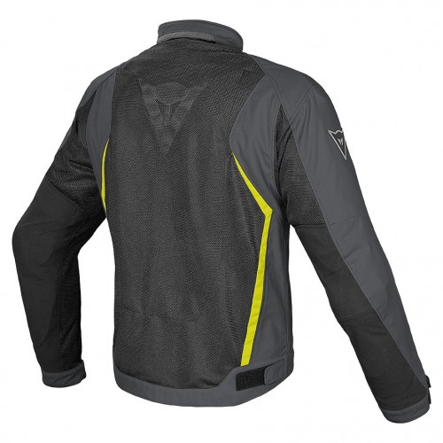 ΜΠΟΥΦΑΝ ΣΥΝΘΕΤΙΚΟ DAINESE HYDRA FLUX D-DRY(Black/Dark-Gull-Gray/Fluo-Yellow)