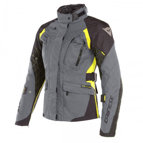 ΜΠΟΥΦΑΝ DAINESE  X-TOURER D-DRY LADY JACKET(Ebony/Black/Fluo-Yellow)