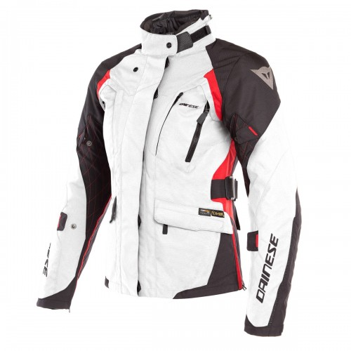 ΜΠΟΥΦΑΝ DAINESE  X-TOURER D-DRY LADY JACKET(Light-Gray/Black/Tour-Red)