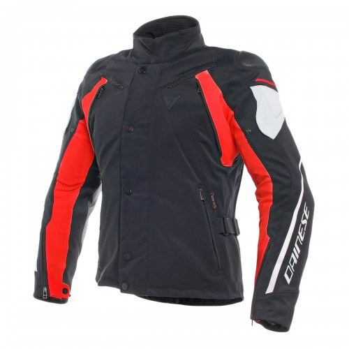 ΜΠΟΥΦΑΝ DAINESE RAIN MASTER D-DRY JACKET(Black/Glacier-Gray/Red)