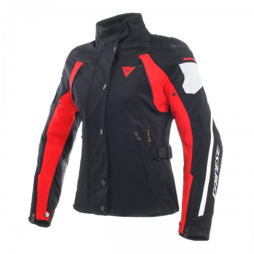 ΜΠΟΥΦΑΝ DAINESE RAIN MASTER LADY D-DRY(Black/Glacier-Gray/Red)