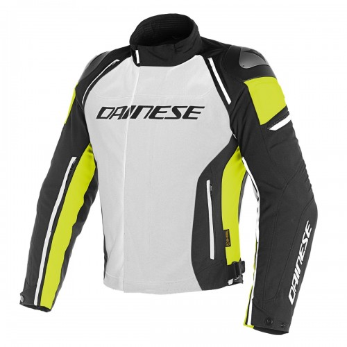 ΜΠΟΥΦΑΝ DAINESE RACING 3 D-DRY JACKET(Glacier-Gray/Black/Fluo-Yellow)