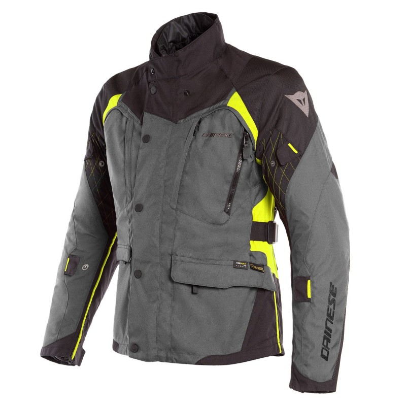 ΜΠΟΥΦΑΝ DAINESE  X-TOURER D-DRY  JACKET(Ebony/Black/Fluo-Yellow)