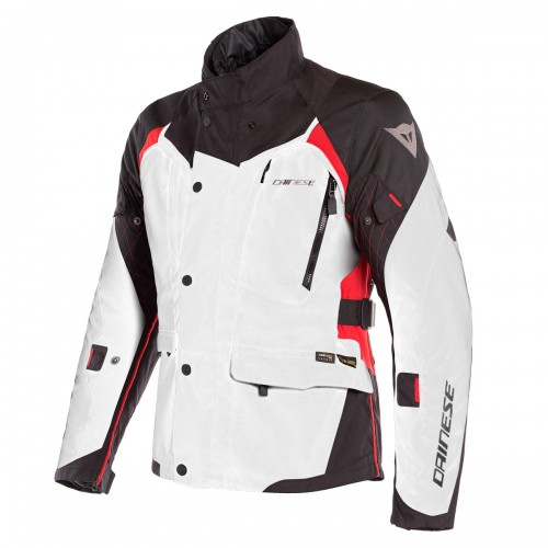 ΜΠΟΥΦΑΝ DAINESE X-TOURER D-DRY JACKET(Light-Gray/Black/Tour-Red)