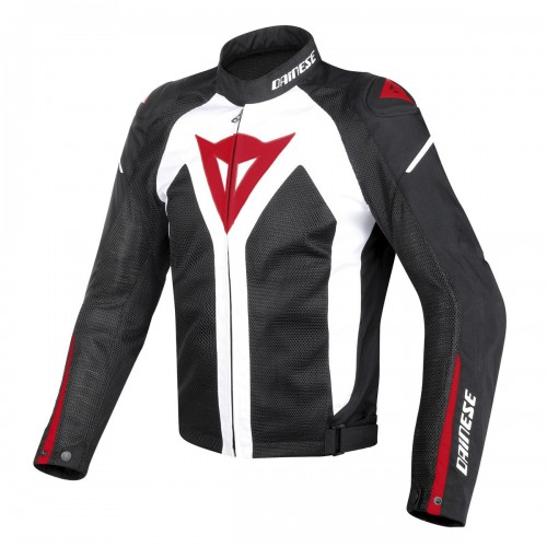 ΜΠΟΥΦΑΝ DAINESE HYPER FLUX D-DRY® JACKET(White/Black/Red)