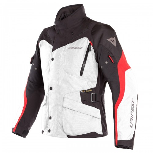 ΜΠΟΥΦΑΝ  DAINESE TEMPEST 2 D-DRY JACKET(Light-Gray/Black/Tour-Red)