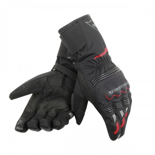 ΓΑΝΤΙΑ DAINESE TEMPEST UNISEX D-DRY® LONG GLOVES(Black/Red)