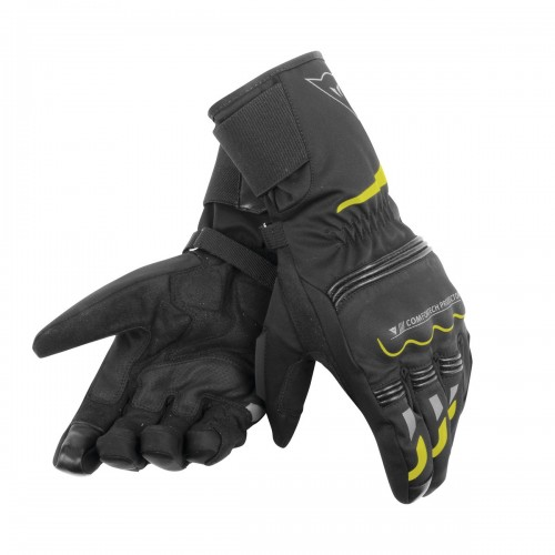 ΓΑΝΤΙΑ DAINESE TEMPEST UNISEX D-DRY® LONG GLOVES(Black/Yellow-Fluo)