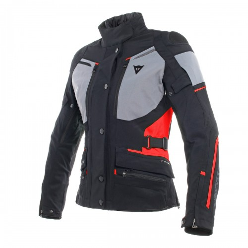 ΜΠΟΥΦΑΝ DAINESE CARVE MASTER 2 LADY GORE-TEX JACKET(Black/Frost-Grey/Red)