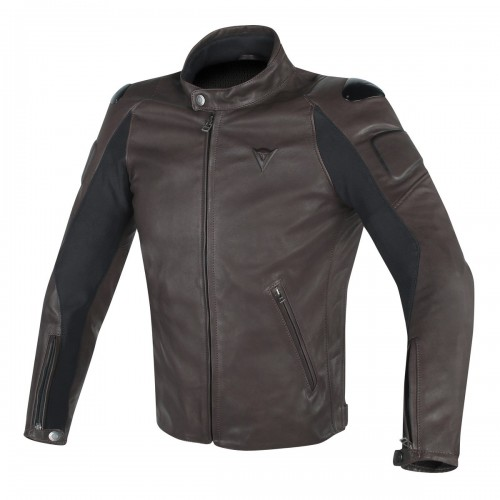 ΜΠΟΥΦΑΝ DAINESE STREET DARKER LEATHER JACKET(Dark-Brown)