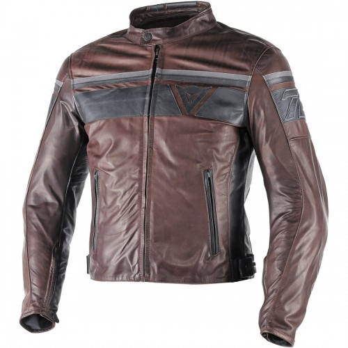 ΜΠΟΥΦΑΝ DAINESE BLACKJACK LEATHER JACKET(Dark Brown/Black/Black)