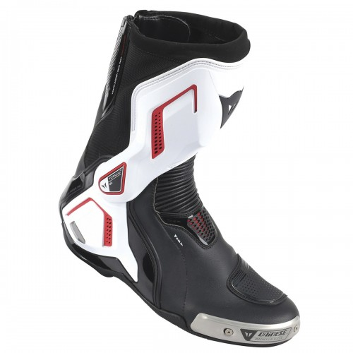 ΜΠΟΤΕΣ DAINESE TORQUE D1 OUT AIR LEATHER(Black/White/Lava-Red)