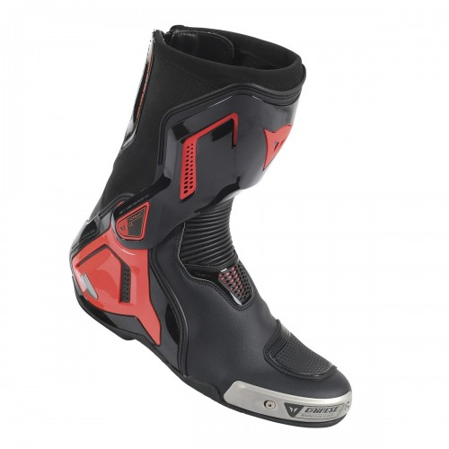 ΜΠΟΤΕΣ DAINESE TORQUE D1 OUT LEATHER(Black/Fluo-Red)
