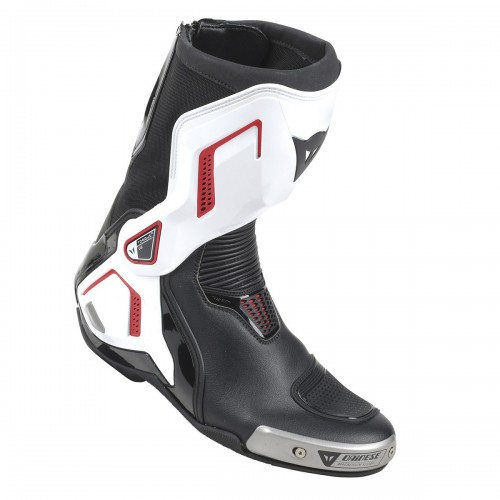 ΜΠΟΤΕΣ DAINESE TORQUE D1 OUT LEATHER(Black/White/Lava-Red)