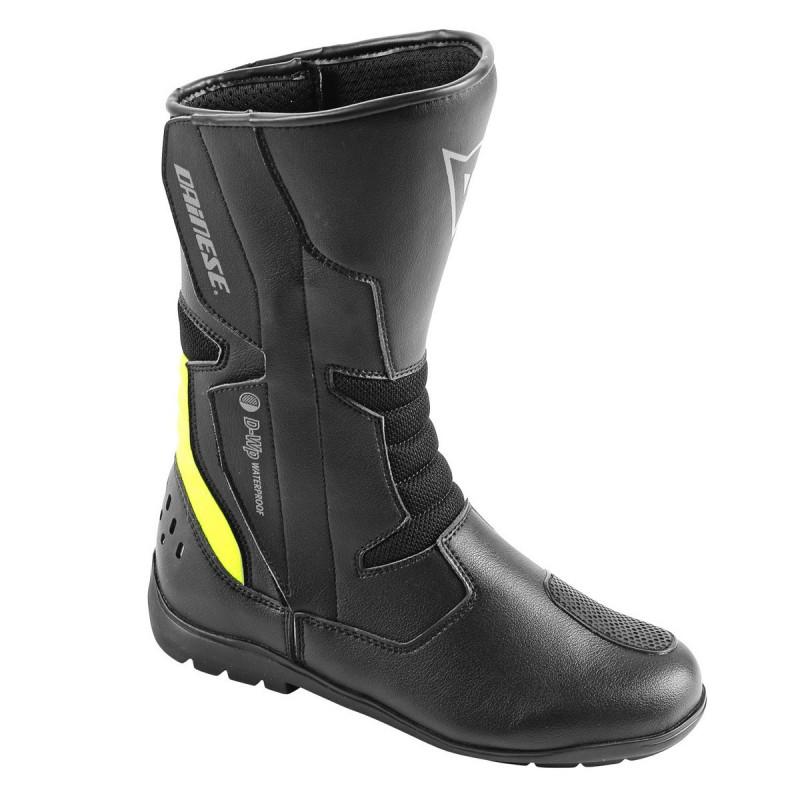 ΜΠΟΤΕΣ DAINESE TEMPEST D-WP WATERPROOF(Black/Fluo-Yellow)