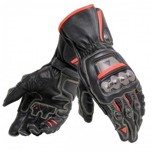 ΓΑΝΤΙΑ DAINESE FULL METAL 6 GLOVES(Black/Black/Fluo-Red)