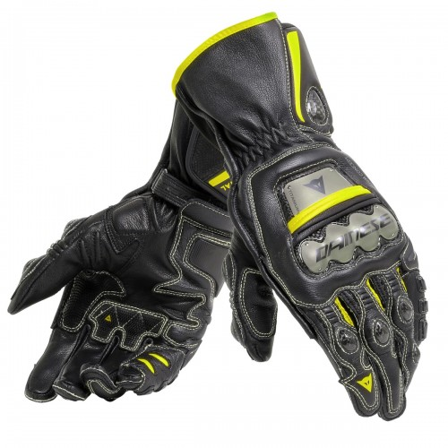 ΓΑΝΤΙΑ DAINESE FULL METAL 6 GLOVES(Black-Black-Fluo-Yellow)