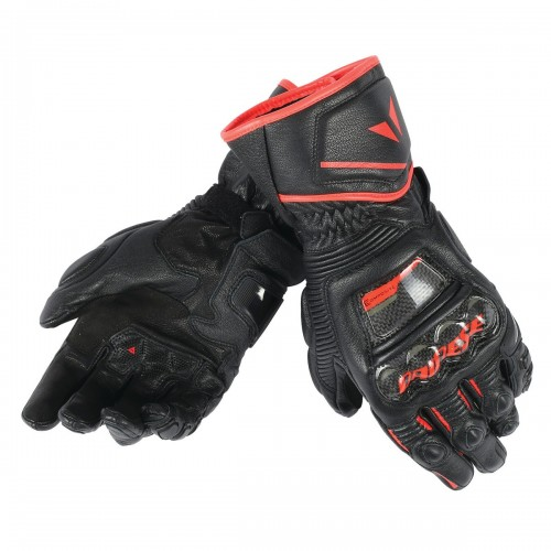 ΓΑΝΤΙΑ DAINESE DRUID D1 LONG GLOVES (Black-Black-Fluo-Red)
