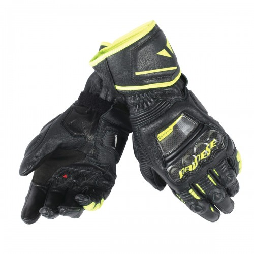 ΓΑΝΤΙΑ DAINESE DRUID D1 LONG GLOVES(Black/Black/Fluo-Yellow)