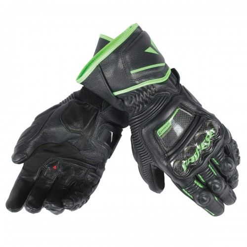 ΓΑΝΤΙΑ DAINESE DRUID D1 LONG GLOVES(Black/Black/Fluo-Green)