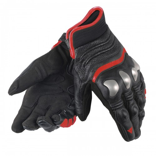 ΓΑΝΤΙΑ DAINESE X-STRIKE GLOVES (Black/Red-Fluo)