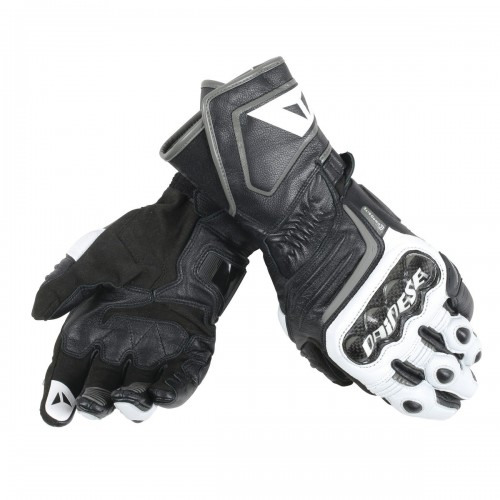 ΓΑΝΤΙΑ DAINESE CARBON D1 LONG GLOVES(Black/White/Anthracite)