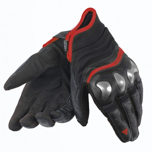ΓΑΝΤΙΑ DAINESE X-RUN GLOVES(Black-Red-Fluo)