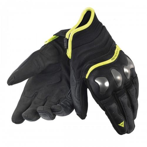 ΓΑΝΤΙΑ DAINESE X-RUN GLOVES(Black/Yellow-Fluo)