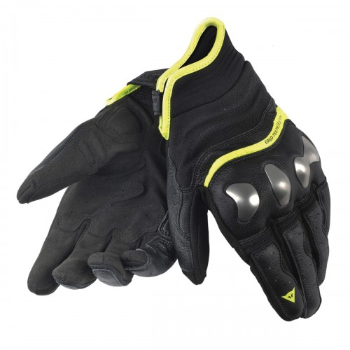 ΓΑΝΤΙΑ DAINESE X-RUN GLOVES(Black/Yellow-Fluo)