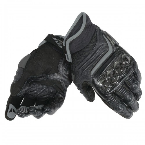 ΓΑΝΤΙΑ DAINESE CARBON D1 SHORT GLOVES (Black/Black/Black)