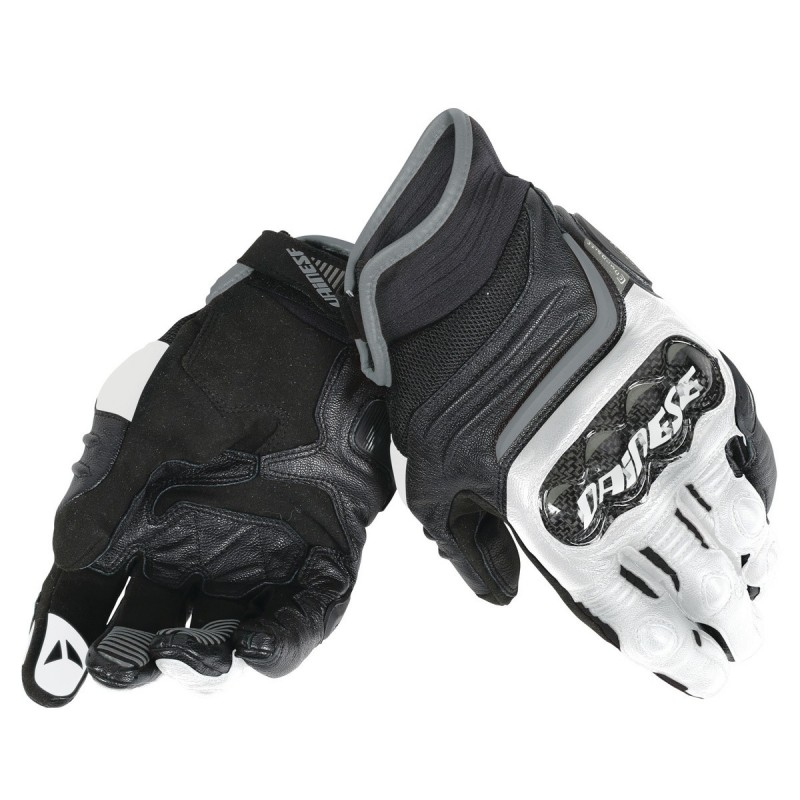ΓΑΝΤΙΑ DAINESE CARBON D1 SHORT GLOVES(Black/White/Anthracite)
