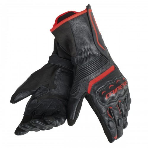 ΓΑΝΤΙΑ DAINESE ASSEN GLOVES(Black/Black/Red-Fluo)