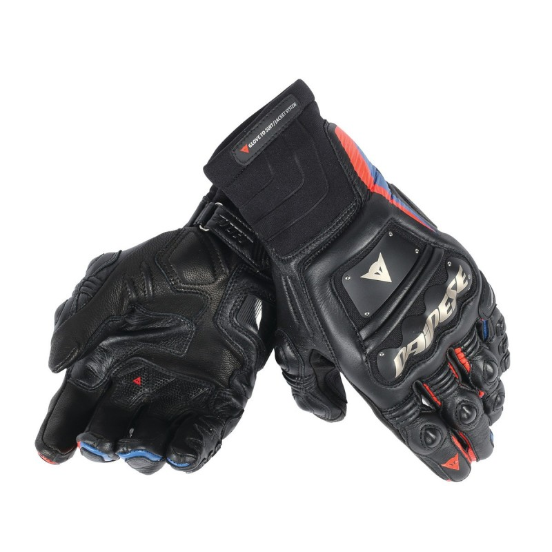 ΓΑΝΤΙΑ DAINESE RACE PRO IN GLOVES (Black/Fluo-Red/Blue)